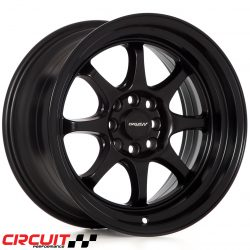 Circuit Performance CP25 18x8.5 4x100/4x114.3 Flat Black+8 Wheels