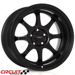 Circuit Performance CP25 18x10.5 5x114.3 Flat Black+22 Wheels