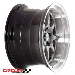 Circuit Performance CP25 18x10.5 5x114.3 Hyper Black+22 Wheels