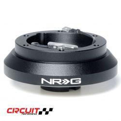 NRG SRK-100H Mitsubishi/Subaru Steering Wheel Short Hub Photograph on white background