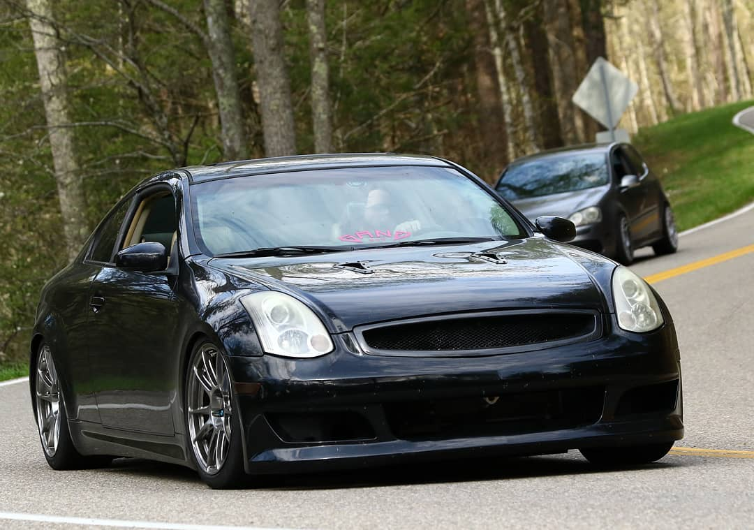 18x9 Cp32 On Infiniti G35 Coupe Circuit Performance