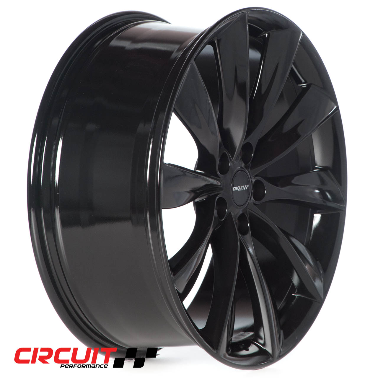 CP12 21x8.5 Gloss Black 5x120 et40 Wheel - Circuit Performance